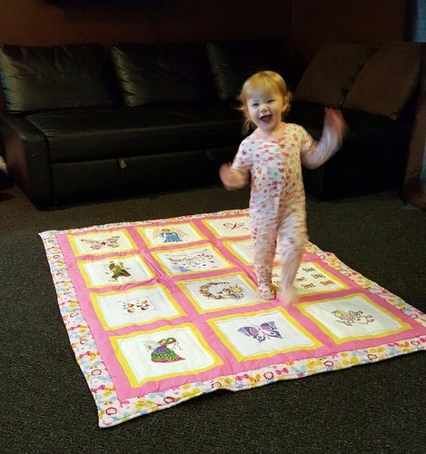 Photo of Scarlett-May's quilt