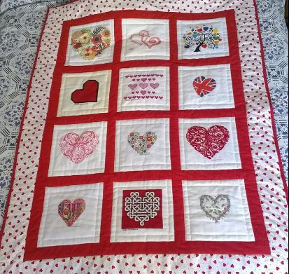 Photo of (QUILTED) Hearts's quilt