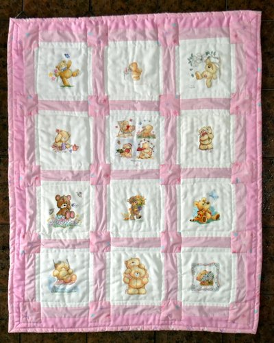 Photo of (QUILTED) Cute Characters's quilt