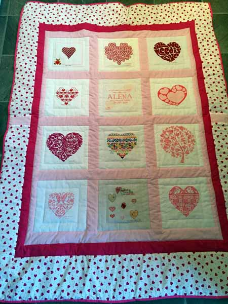 Photo of Alena R's quilt