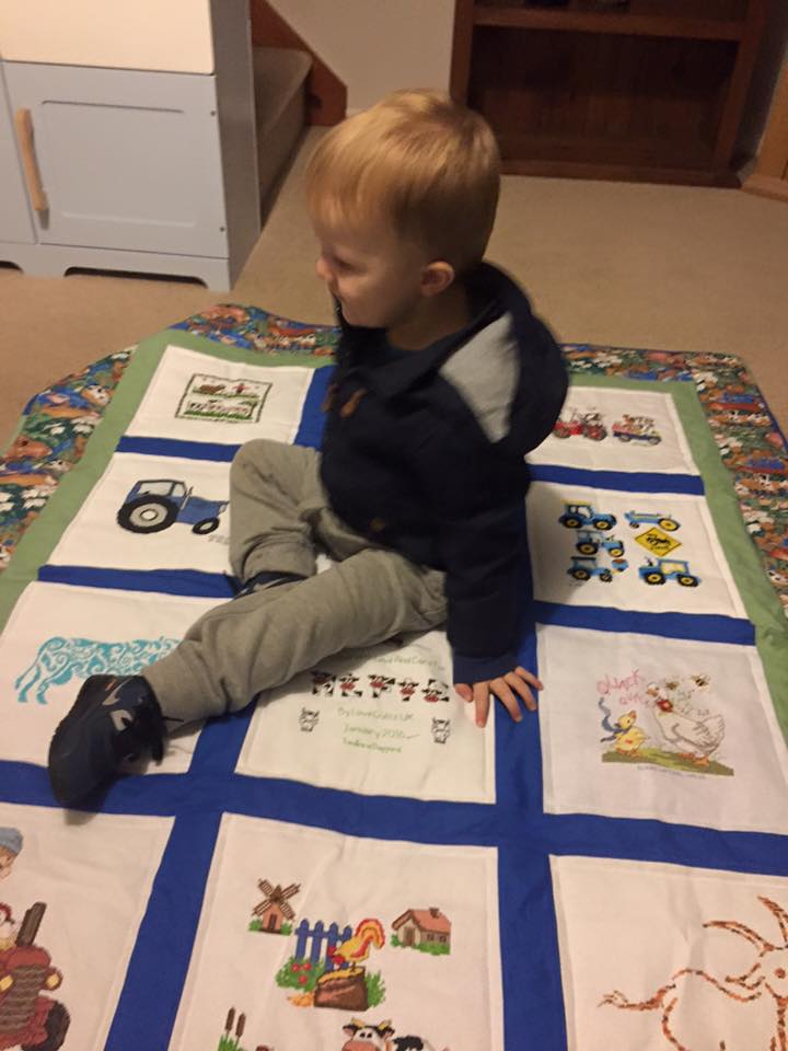 Photo of Alfie C's quilt