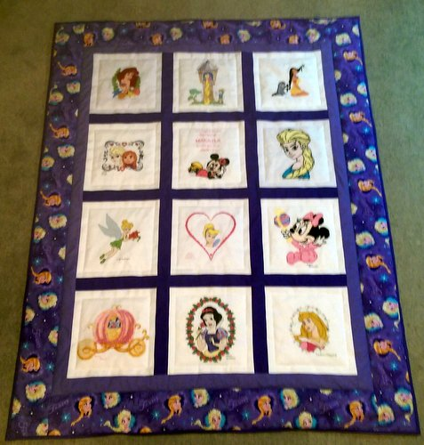 Photo of Makayla's quilt