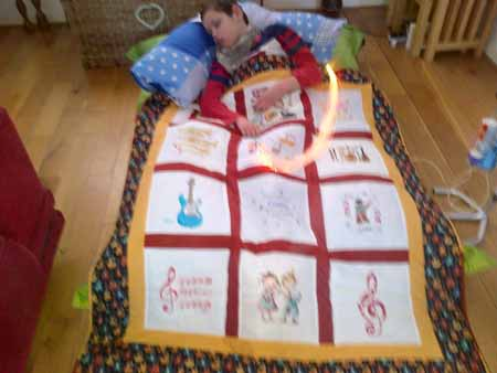 Photo of Connor C's quilt