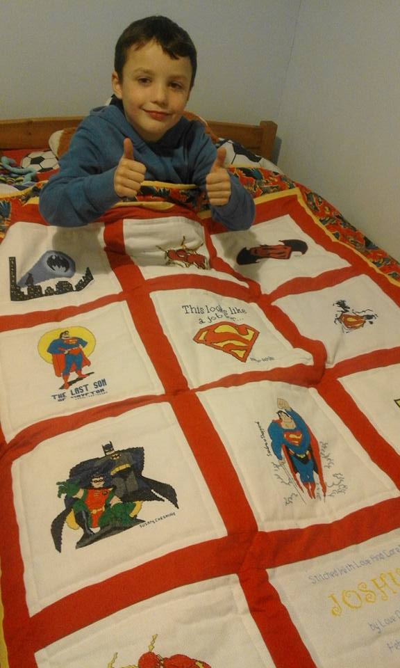 Photo of Joshua T's quilt