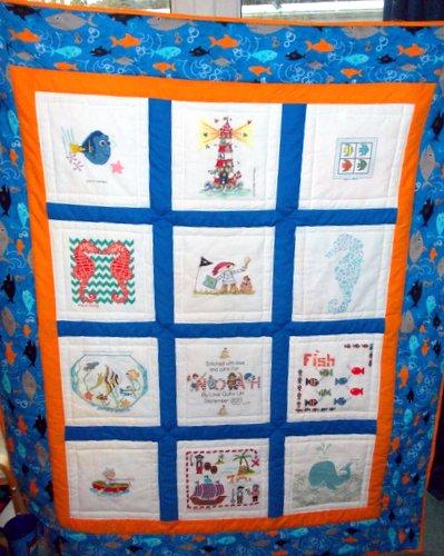 Photo of Noah B's quilt