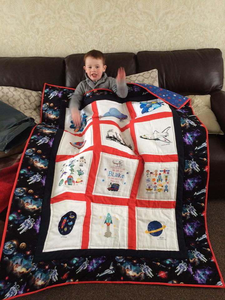 Photo of Blake T's quilt