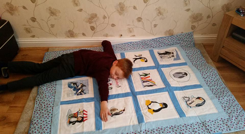 Photo of Kaden B's quilt