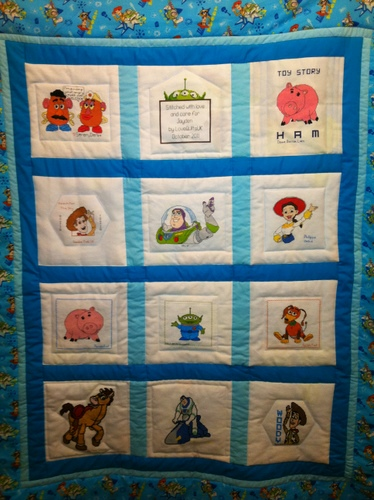 Photo of Jayden Ks quilt