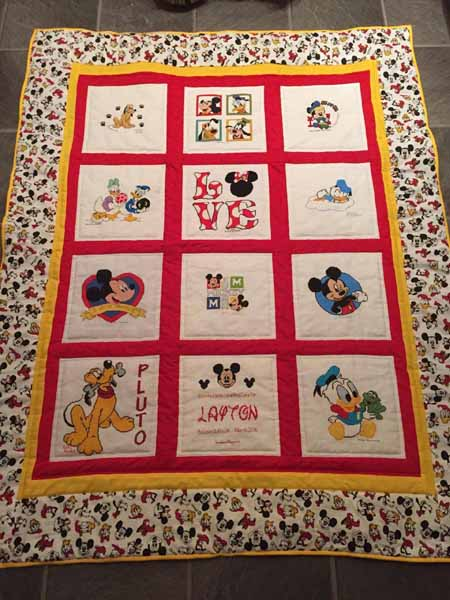 Photo of Layton J's quilt