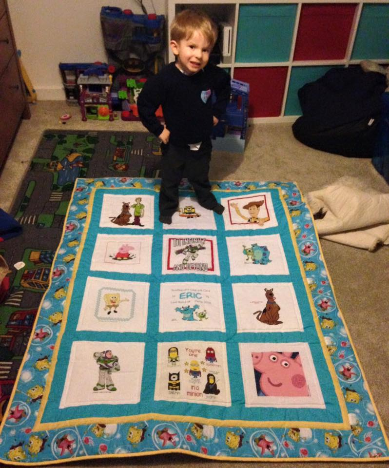 Photo of Eric F's quilt