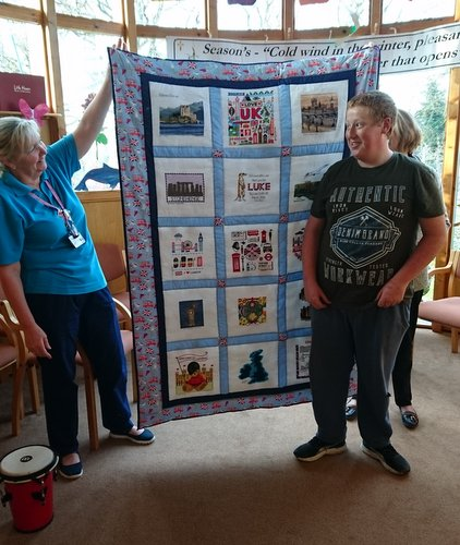 Photo of Luke B's quilt