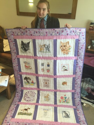Photo of Lucie W's quilt