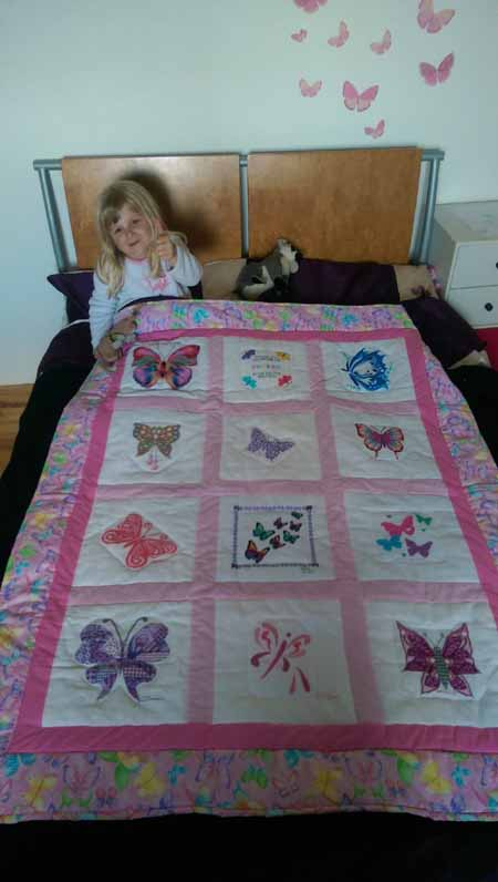 Photo of Phoebe T's quilt