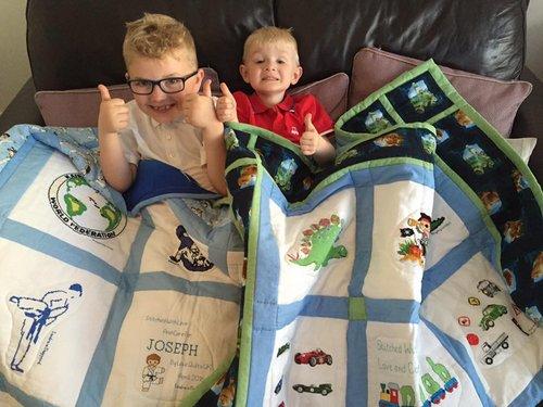 Photo of Joseph W's quilt