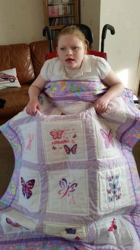 Photo of Hannah D's quilt