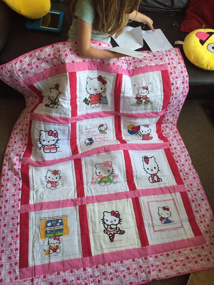Photo of Grace K's quilt