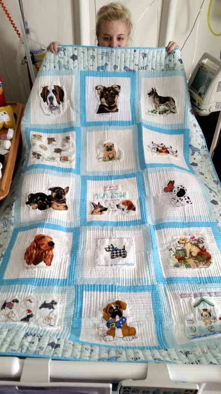 Photo of Kayleigh R's quilt