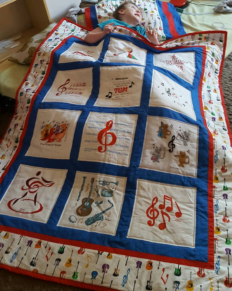 Photo of Tom B's quilt