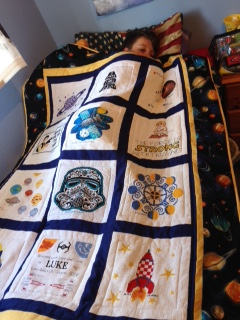 Photo of Luke S's quilt