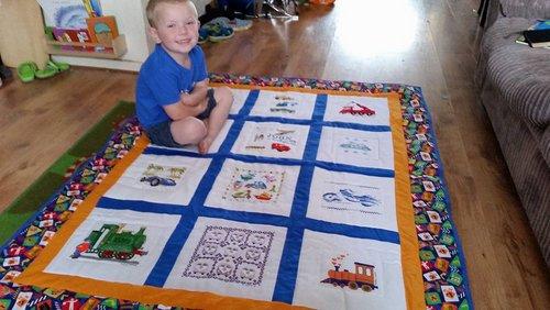 Photo of John H's quilt