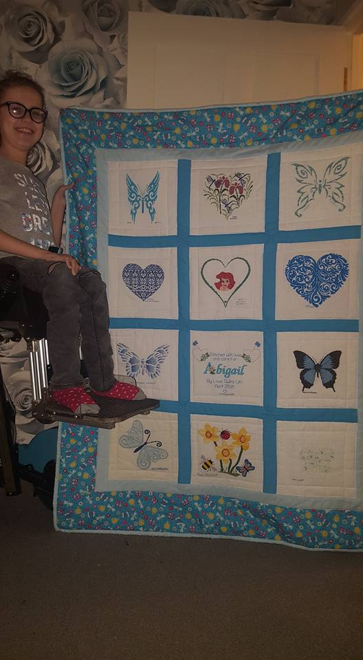 Photo of Abigail B's quilt
