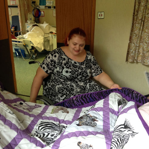 Photo of Teri-Ann W's quilt