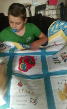 Photo of Ethan C's quilt