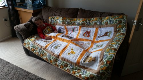 Photo of Jacob R's quilt