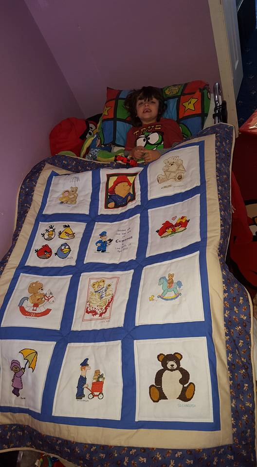 Photo of Cameron P's quilt
