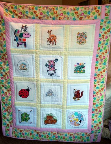 Photo of (QUILTED) Cute Animals's quilt
