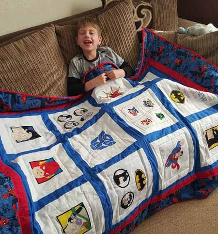 Photo of Matthew V's quilt
