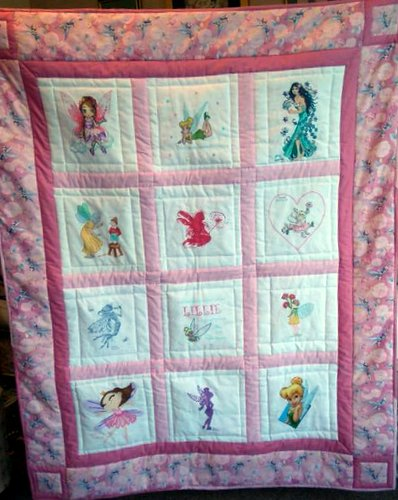 Photo of Lillie's quilt