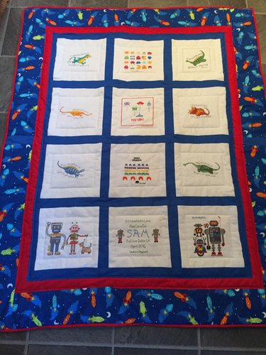 Photo of Sam V's quilt