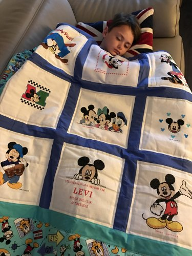 Photo of Levi B's quilt