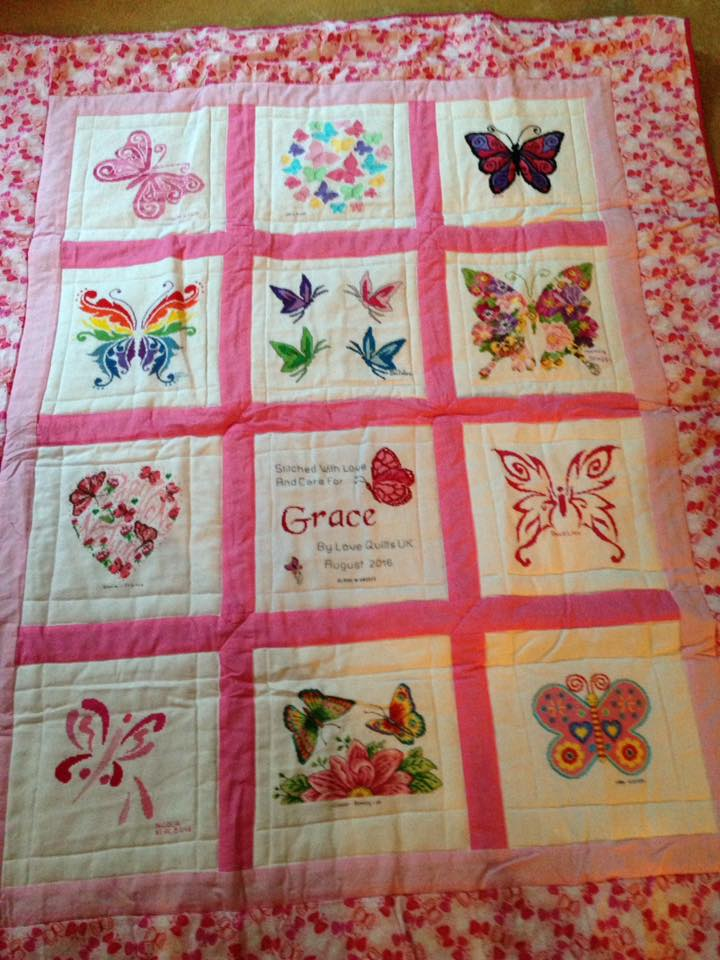 Photo of Grace C's quilt