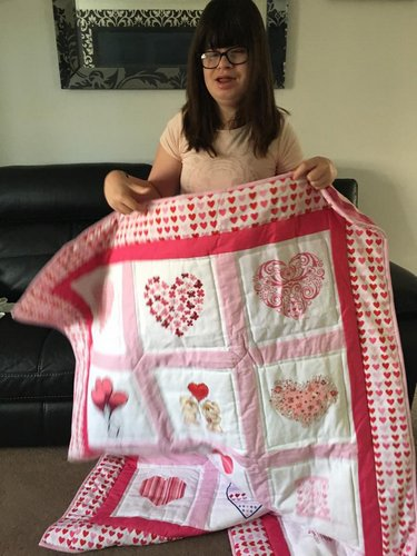 Photo of Mollie R's quilt
