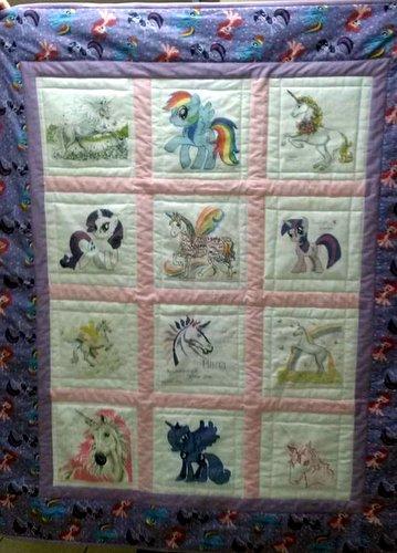 Photo of Maria's quilt