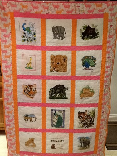 Photo of Courtney E's quilt