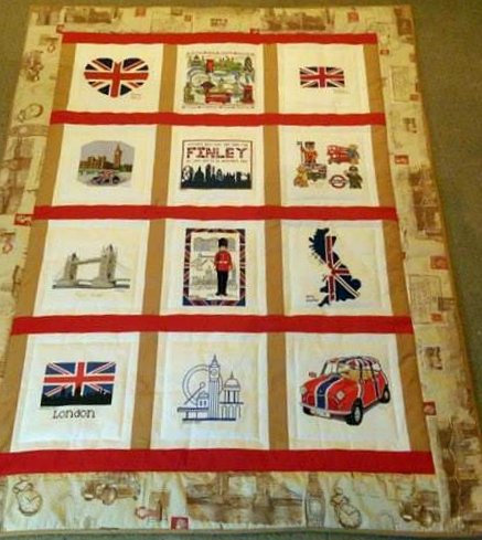 Photo of Finley C's quilt