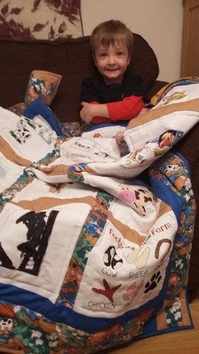Photo of Henry W's quilt