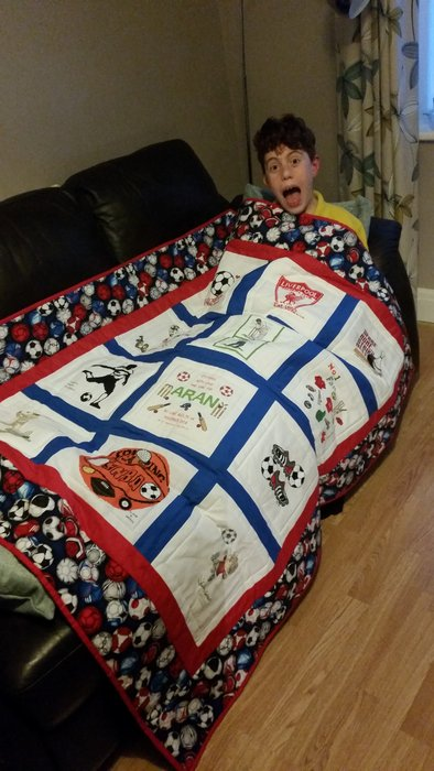Photo of Aran A's quilt