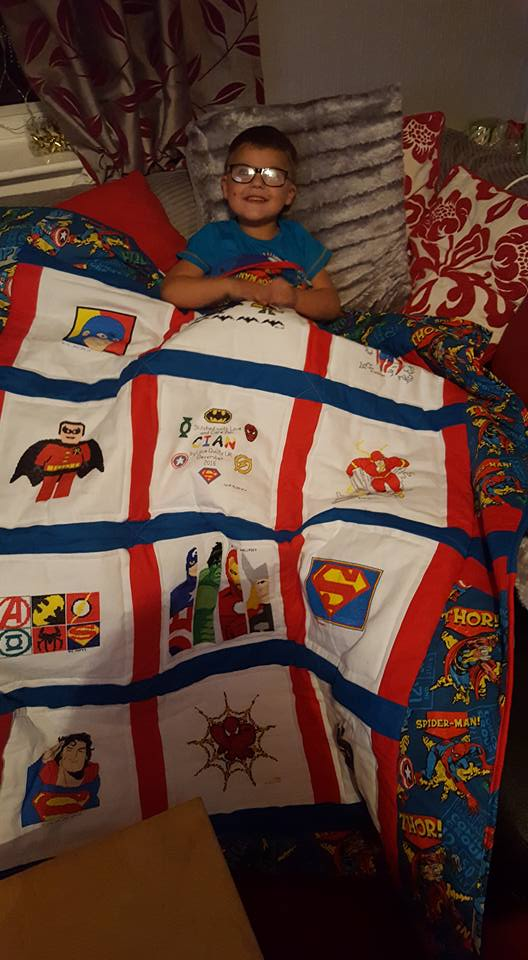 Photo of Cian D's quilt