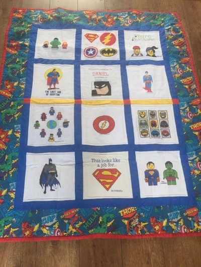 Photo of Daniel O's quilt