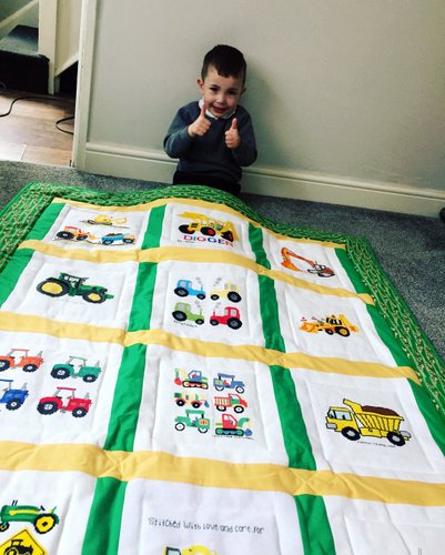 Photo of Caleb C's quilt
