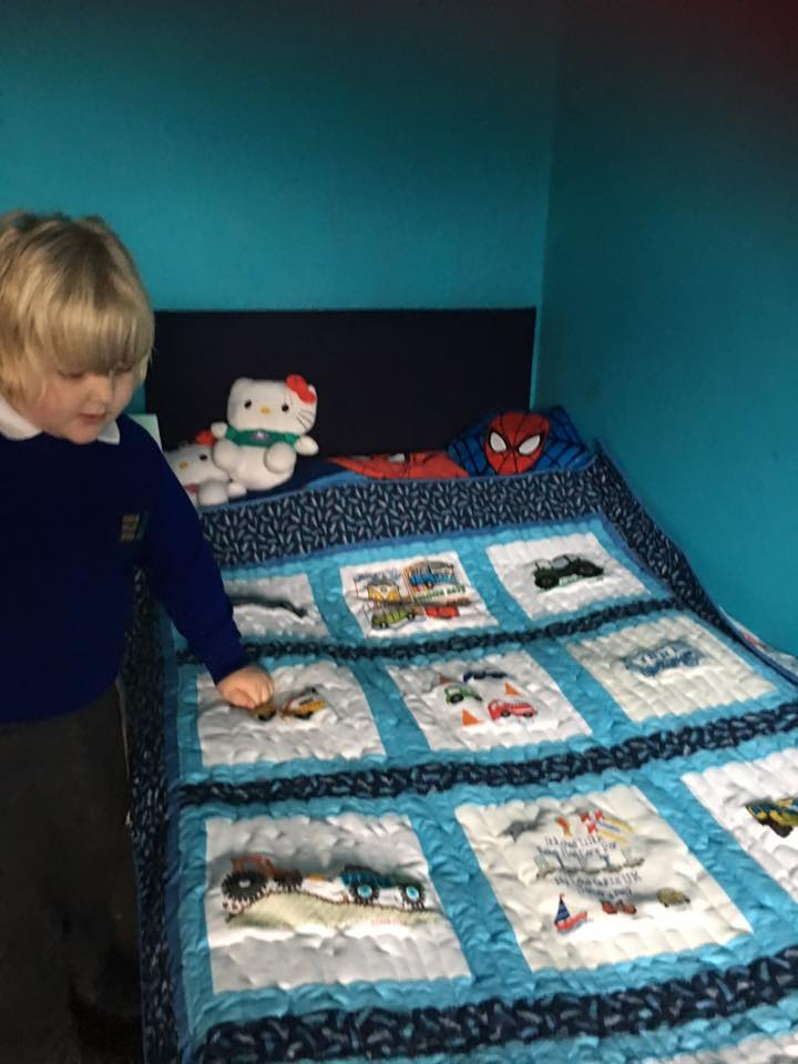 Photo of Alfie O's quilt