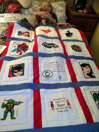 Photo of Sam B's quilt