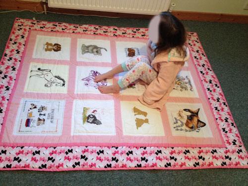 Photo of Lola's quilt