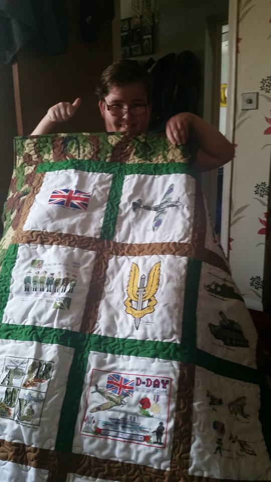 Photo of Ryan G's quilt