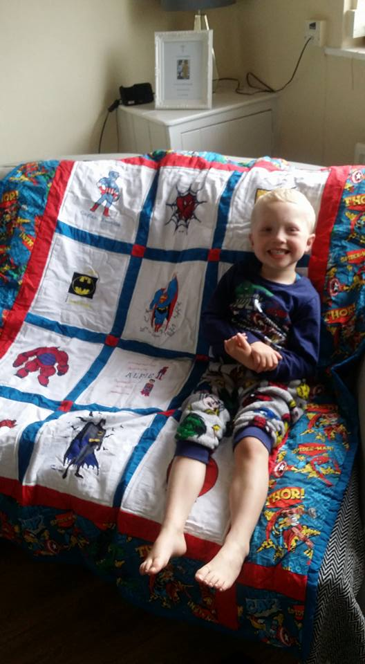 Photo of Alfie D's quilt