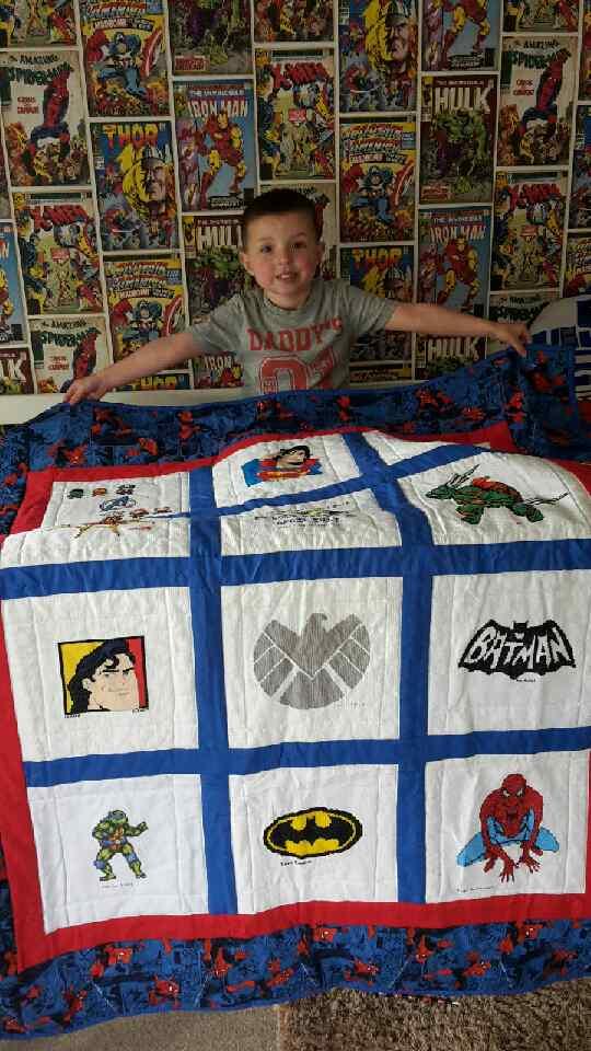 Photo of Ben S's quilt